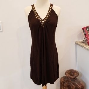 Summer Dress with Beaded Detail